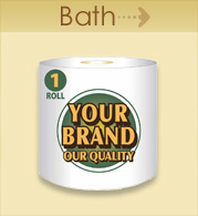Your Brand Bath Tissue