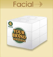 Your Brand Facial Tissue